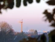 Den Dom morgens im Blick