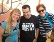 Teil des Orga-Teams: Susanne Weber, Jörn Spillmann, Manuela Rivet