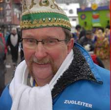 Ehrennadel in Silber für Zugleiter Helmut Kraus