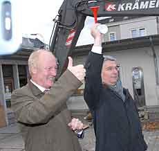 Start der Regionale2010 in Bergisch Gladbach