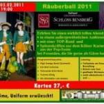Räuberball im Schlosshotel
