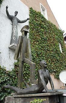 Ignatius Skulptur