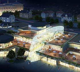 Grandioser Entwurf für die Bensberger City