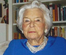 Renate Zanders – Abschied von einer großen Frau