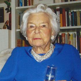 Renate Zanders starb im Alter von 97 Jahren