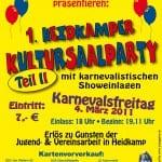 Benefiz-Veranstaltung der Flöckchen in Heidkamp