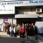 Bensberger Bank-Gruppe besucht Beit Jala