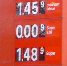 Tankstellen verzichten auf Angebot von e10 wegen der geringen Nachfrage