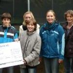 Marie-Curie-Realschule sponsert CROSS-Jugendzentrum