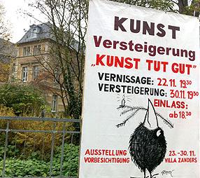 """Versteigerung """"Kunst tut gut"""" brachte 16.200 Euro"""