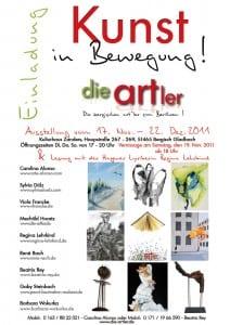 """Ausstellung von """"die-artler"""" im Kulturhaus Zanders"""