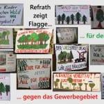 Refrath zeigt Flagge