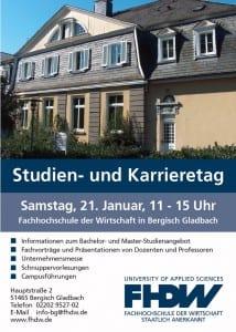Studien- und Karrieretag an der FHDW