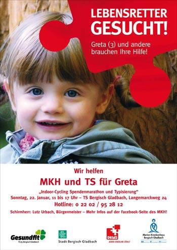 352 Bergisch Gladbacher ließen sich für Greta typisieren