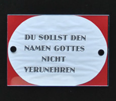 Kunst, 2X10 Gebote und Choryfeen in St. Engelbert