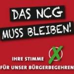 NCG gibt Startschuss für Bürgerbegehren