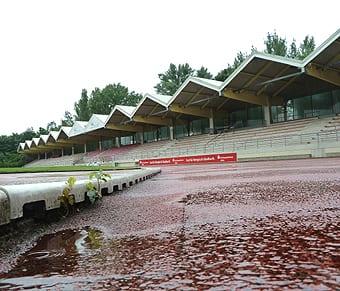 Dach des Stadions muss neu gebaut werden