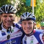 Staubwolke Juniorfahrer bei Charity-Cup erfolgreich