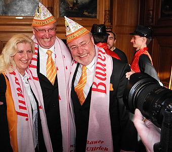 Karnevalsauftakt im Rathaus