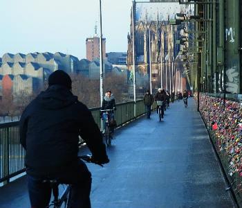 Warum nicht mit dem Rad nach Köln?