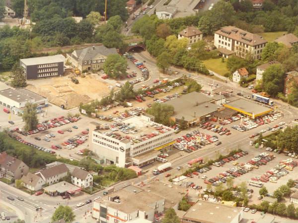 So sah es am Refrather Weg in Gronau lange Zeit aus