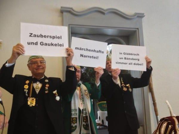 Das Sessionsmotto für Gläbbisch und Bensberg 2014