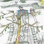 Kundgebung gegen den Kletterpark – für den Naturschutz