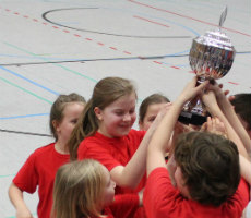GGS Hebborn gewinnt den Korfball-Wanderpokal