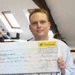 Verein Trostteddy e.V. erhält Spende von der Deutschen Post