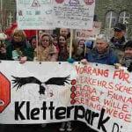 Bürger wollen Politik gegen Kletterwald mobilisieren