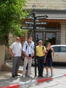Die Delegation aus Bergisch Gladbach, ...