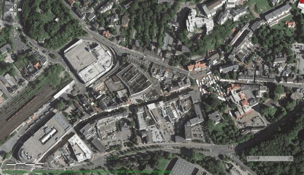 Die Innenstadt 2012