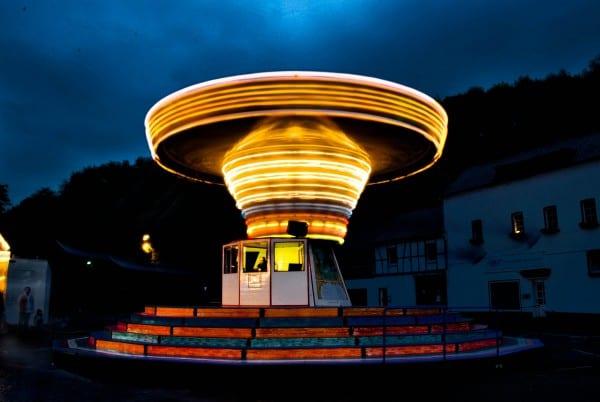 Kettenkarussell, Foto by Melanie Tröster