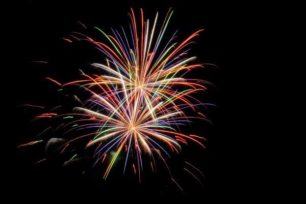 Abschluss Feuerwerk. Foto by Melanie Tröster