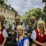 """Das Männerballett """"Jecke Teddys"""" aus Bergisch Gladbach"""