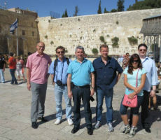 Zurück aus Ganey Tikva und Beit Jala
