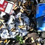 CDU räumt den Müll weg