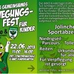 Kinder-Bewegungsfest in Schildgen am Samstag