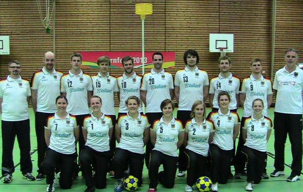 Die deutsche Nationalmannschaft - am Freitag im Kleefeld