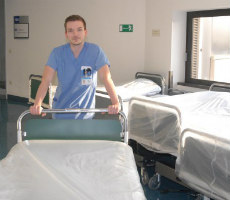 MKH verschenkt 180 Betten – aber die Zeit drängt