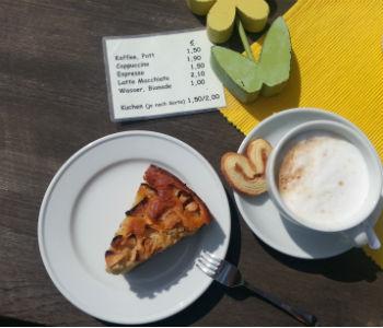 Bezauberndes Bauernhofcafé bei Steffens