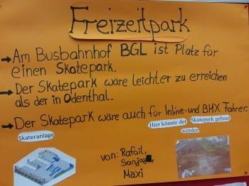 Das Projekt Freizeitpark