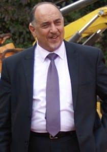 Bürgermeister Salman stattete Bergisch Gladbach einen Kurzbesuch ab. (FOTO: Felder)