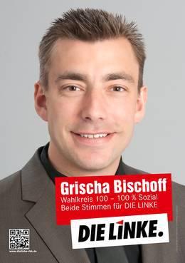 Grischa Bischoff tritt für die Linke an