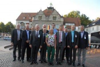 Lucke mit AfD-Vertretern aus Bergisch Gladbach und Köln