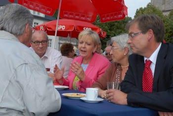 Michael Zalfen mit Hannelore Kraft
