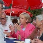 Wahlkampf mit Waffeln, Kaffee, Kraft und Krüger