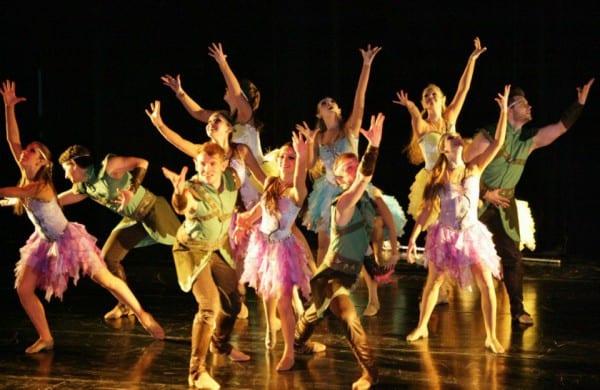 Das Tanzstudio Dance In räumt mit seinen Formationen ab. Im Foto: Jazz Lights
