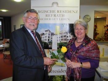 Geschäftsführer Winfried Oepen mit der Landtagsabgeordneten Helene Hammelrath