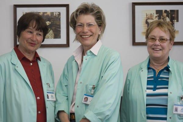 Das Leitungsteam: Evelin Schulz, Ruth Kürten und Doris Werner (v.l.)
